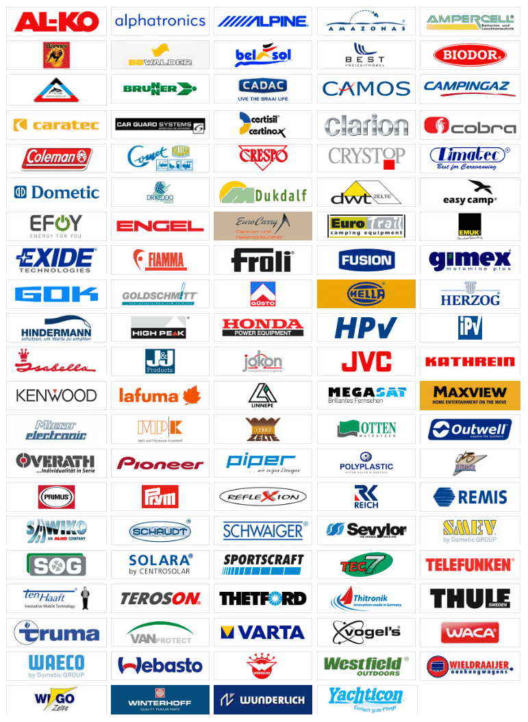 Al onze merken in één beeld!